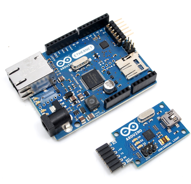 Arduino Ethernet WITHOUT PoE + USB2SERIAL [113990034]